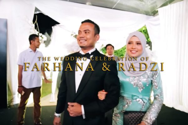 The Wedding Celebration at Kediaman Menteri Besar Johor // By Top Wedding Videographer Malaysia (Kaio Studio)
