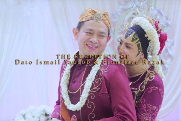 The-Reception-of-Dato-Ismail-Yaacob-&-Fransisca-Razak-by-Best-Wedding-videographer-Malaysia,-Kaio-Studio