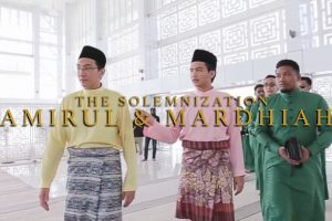 the-solemnization-of-amirul-and-mardhiah-by-top-wedding-videographer-malaysia,-kaio-studio