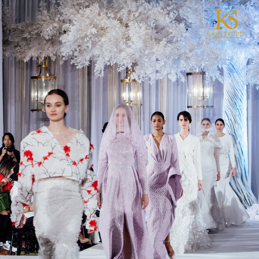 WANPA FASHION SHOW at THE WEDDING KL 2017 MANDARIN ORIENTAL PHOTO AND VIDEO BY KAIO STUDIO