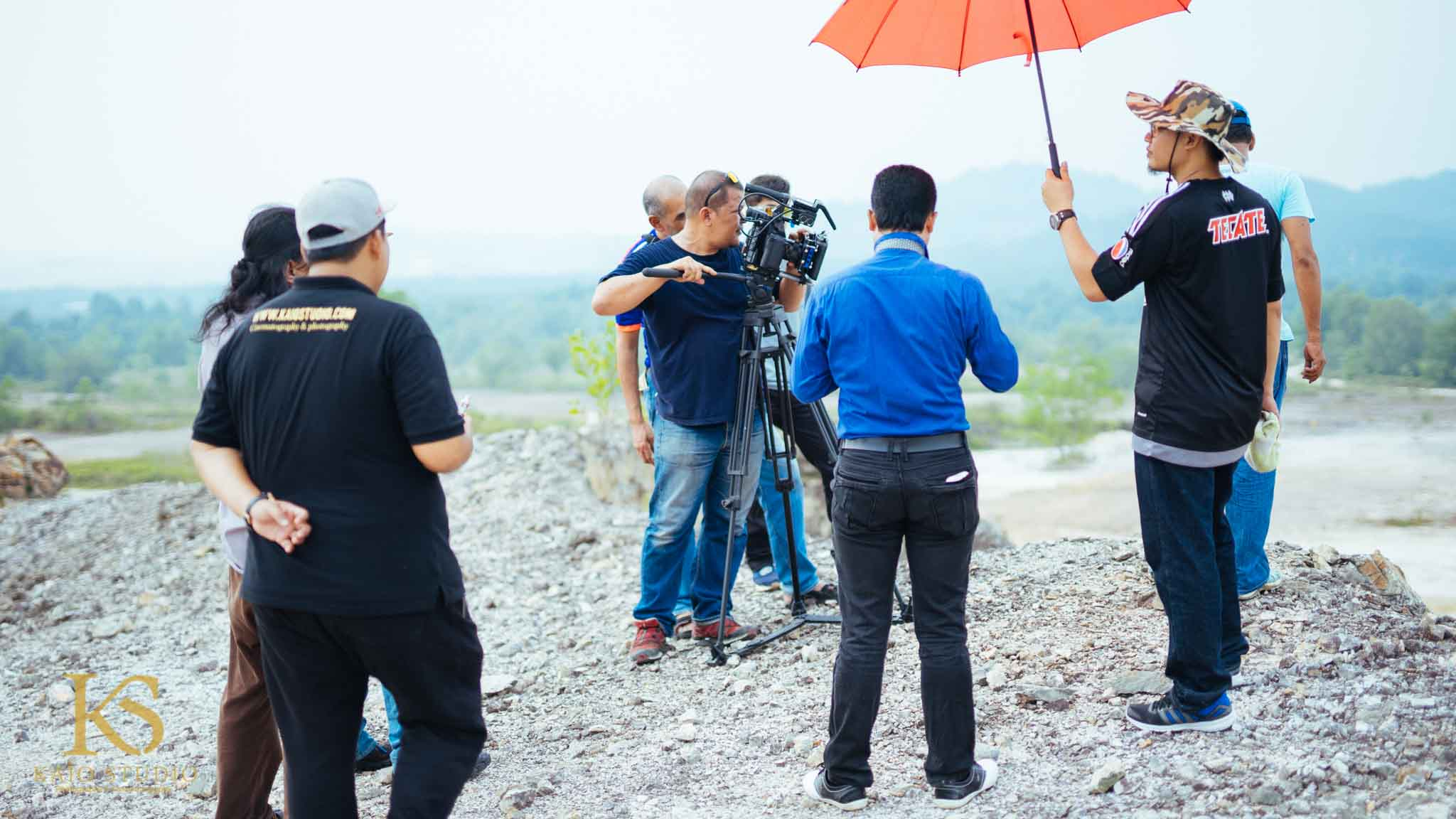 Behind The Scene Commercial Videoshoot for RTM (DRONE BY KAIO STUDIO)