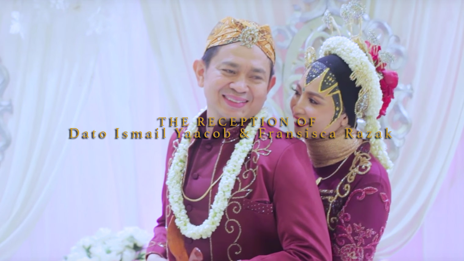 The Reception of Dato Ismail Yaacob & Fransisca Razak by Top Wedding videographer Malaysia, Kaio Studio