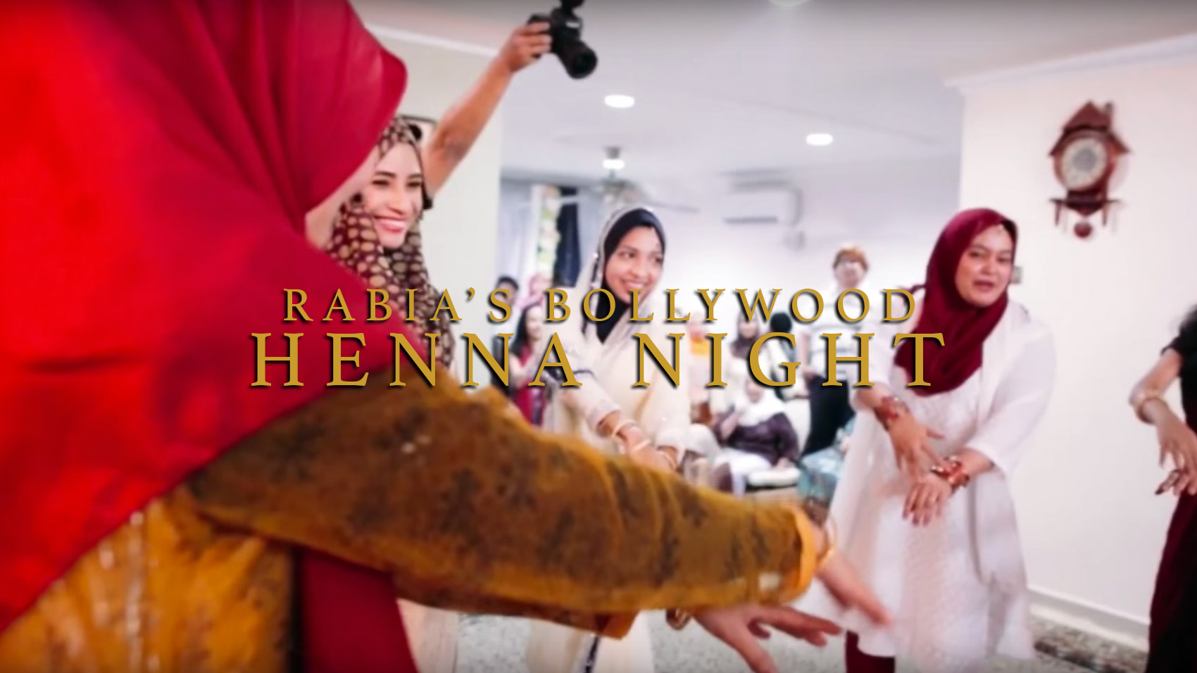 Rabia's Bollywood Henna Night by Top Wedding Videographer Malaysia, Kaio Studio