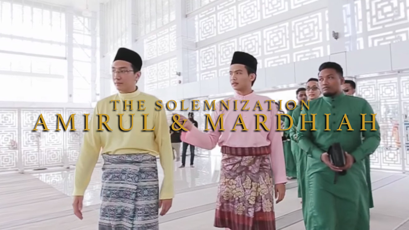 The Solemnization of Amirul And Mardhiah by Top Wedding Videographer Malaysia, Kaio Studio