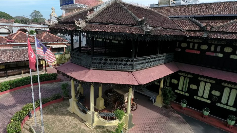 Aerial Videography – Istana Jahar (Architecture)