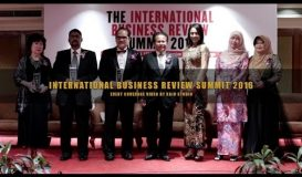 The International Business Review Summit 2016 by AMG International