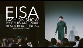 Eisa Fashion Show by Ezuwan Ismail at Black Box Publika