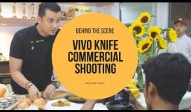 VIVO Knife Commercial shooting (Poster & Video) - Villeroy & Boch Group