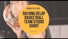 Bayang Gelap Basketball Team Photoshoot