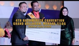 4th RASHWEALTH Convention at Menara Felda Grand Ballroom - 16 APRIL 2016